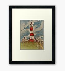 Happisburgh Lighthouse - Norfolk, UK Framed Print