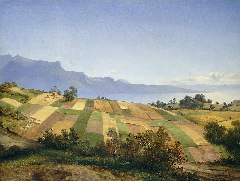 Swiss Landscape by Alexandre Calame by classicartcache