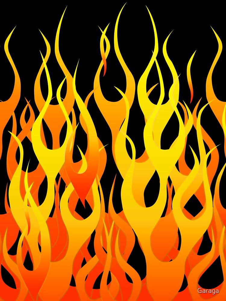 Racing Flames by Garaga