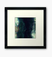 Abstract digital - Crevasse Framed Print