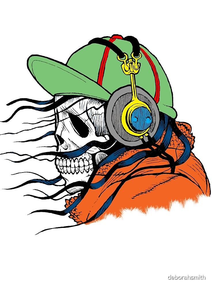 DJ Skull by deborahsmith