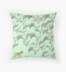Duck Hunt Memories Throw Pillow