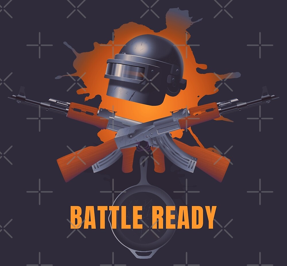 Battle ready. Omon helmet, two Ak 47s and cast iron pan. by Moolversin