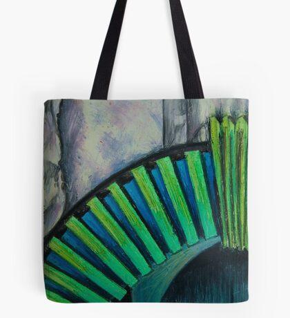 Drain Vent - Oil Pastel Tote Bag