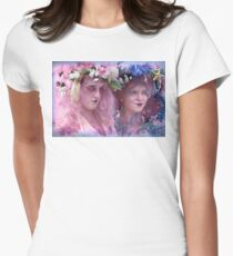 The Kostume Girls at the Mermaid Parade 2011 Women's Fitted T-Shirt