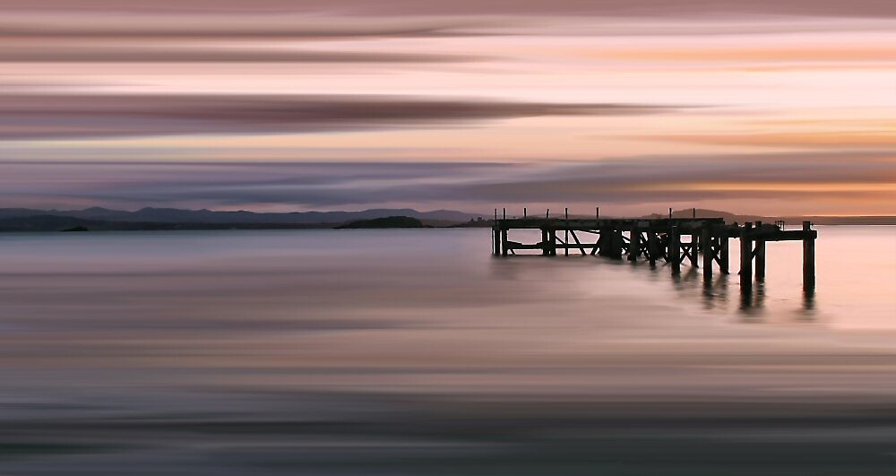 Aberdour Pier  by bluefinart