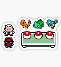 Pokemon, choose your starter Sticker