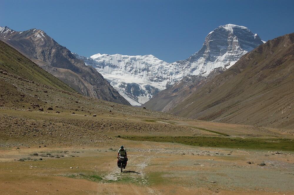 Adventure cycling, Tajikistan by Peter Gostelow