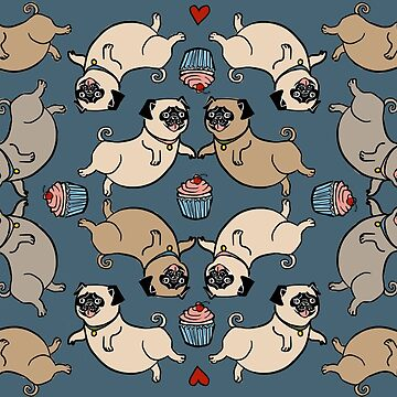 Cupcake Pugs by dcrownfield