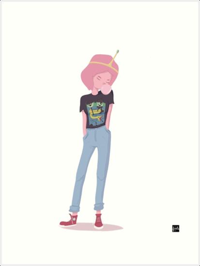 Princess Bubblegum by Anthony Guerra