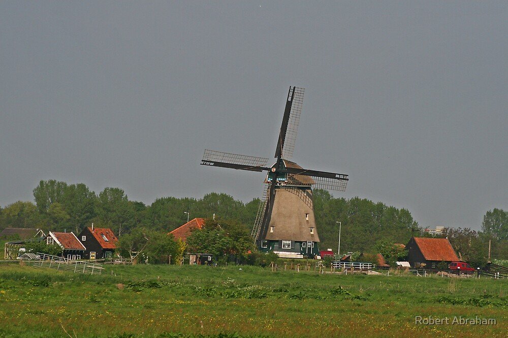 Old Windmill by Robert Abraham