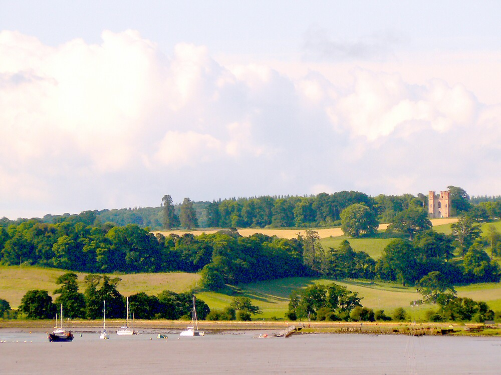 River Exe. Devon UK. by JPPhotography