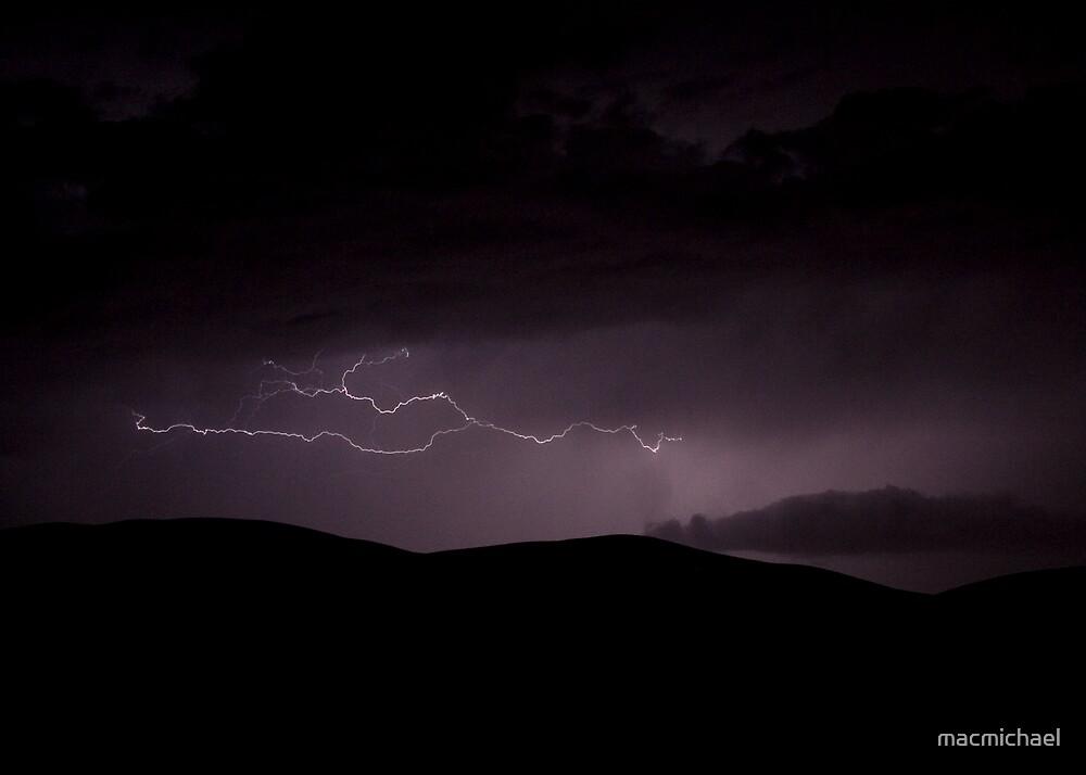 Lightning over the Saharah 2 by macmichael