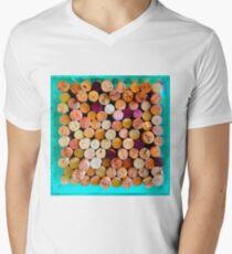 Vibrant wine corks in blue box T-Shirt