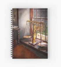 Lawyer - Scales of Justice Spiral Notebook