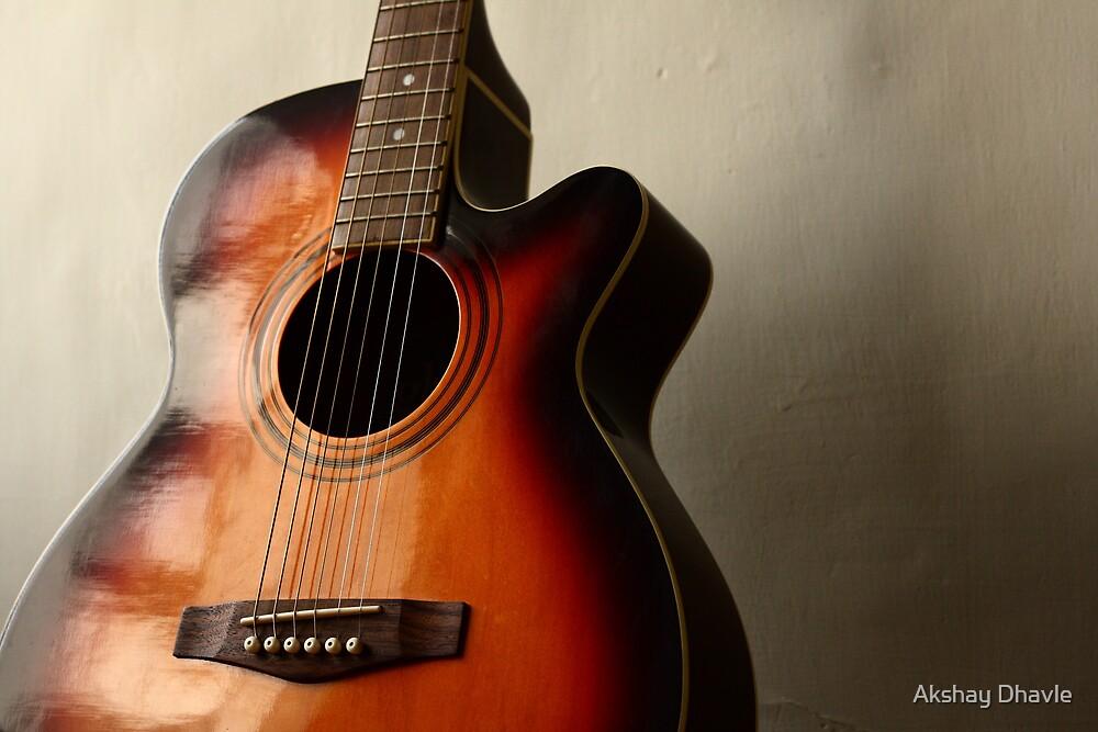 Moody Guitar by Akshay Dhavle
