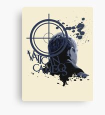 Vatican Cameos - BBC Sherlock [John Watson] Canvas Print