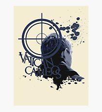 Vatican Cameos - BBC Sherlock [John Watson] Photographic Print