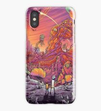 Rick and Morty World iPhone Case/Skin