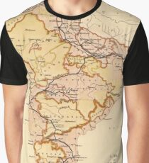 Historical Indian map Graphic T-Shirt