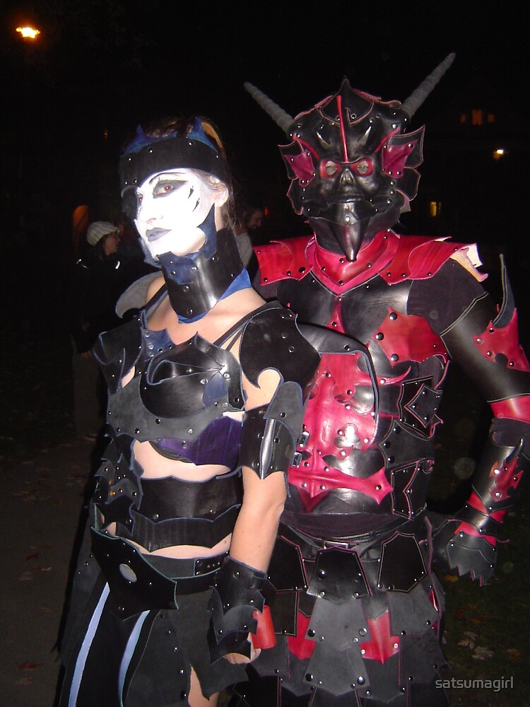 Hallowe'en Costumes at Parade of the Lost Souls 2008 by satsumagirl