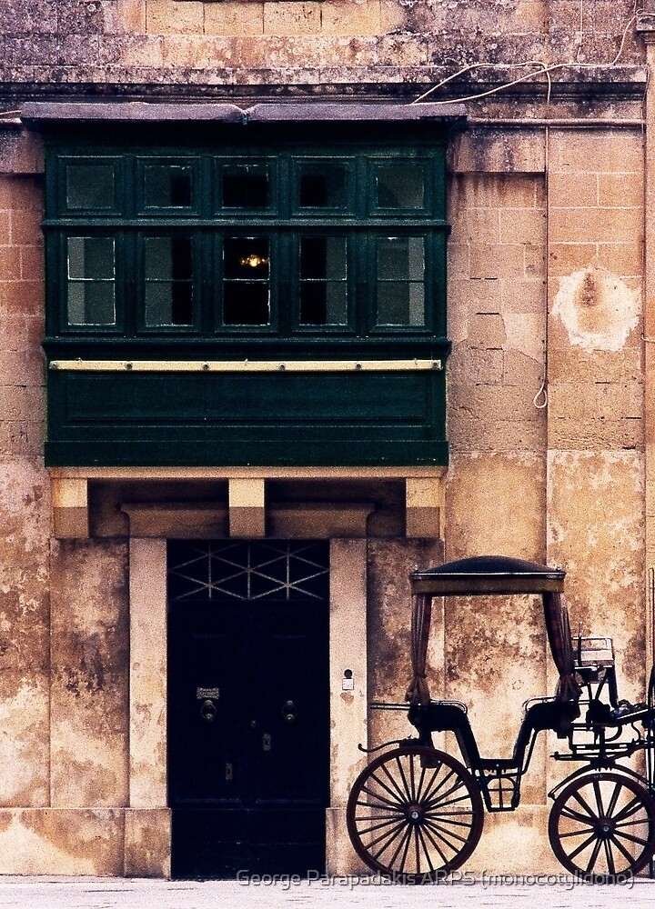 Silent Cart in Silent City by George Parapadakis ARPS (monocotylidono)