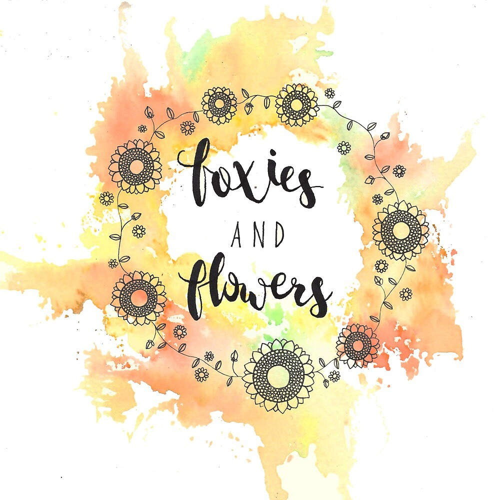 Foxies and Flowers by foxies-flowers