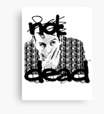 Not dead. - Sherlock BBC [Jim Moriarty] Canvas Print