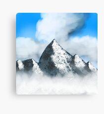 Towering Peaks Canvas Print