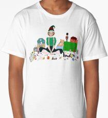 Christmas Elf Long T-Shirt