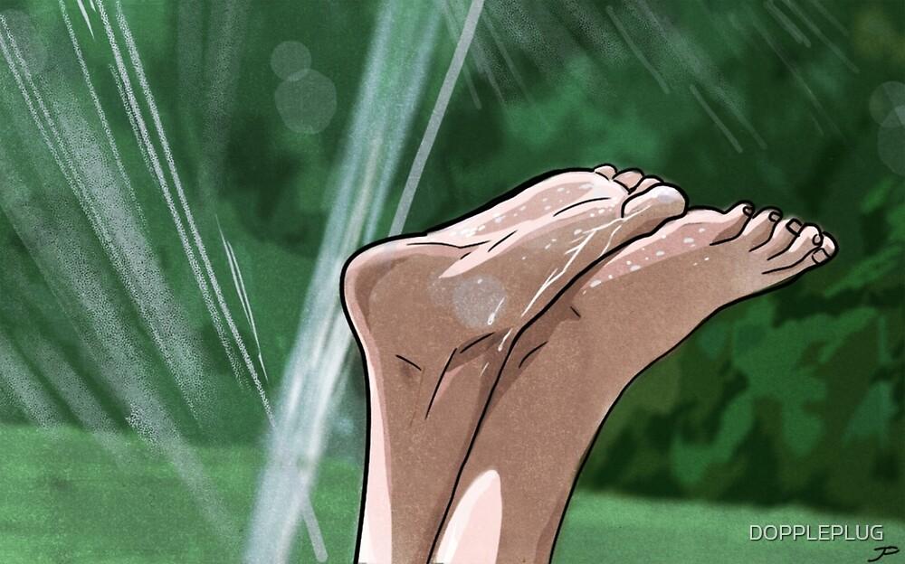 Summer Feet by DOPPLEPLUG