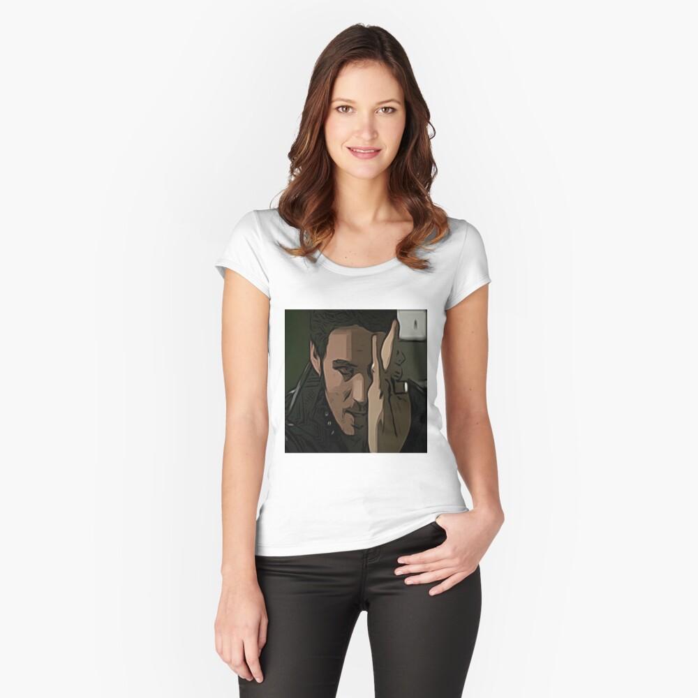 Killian Jones Comic 51 Women's Fitted Scoop T-Shirt Front
