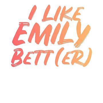 I like Emily Bett(er) by OlicityUniverse