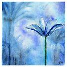 Blue Flower by Arterized