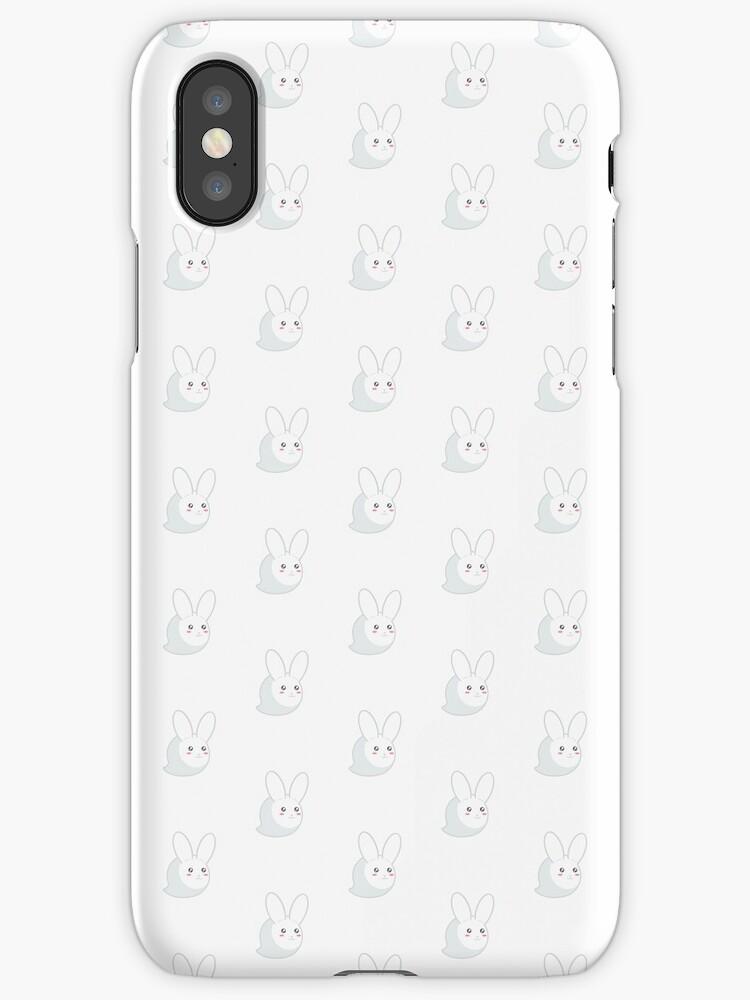 Spirabbit pattern white by animinimal