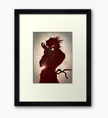 Dio Brando Framed Print