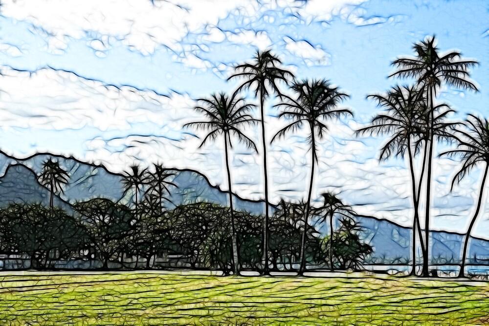 Hawaii Landscape by noffi