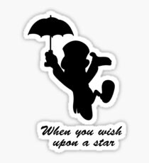 Upon a star Sticker