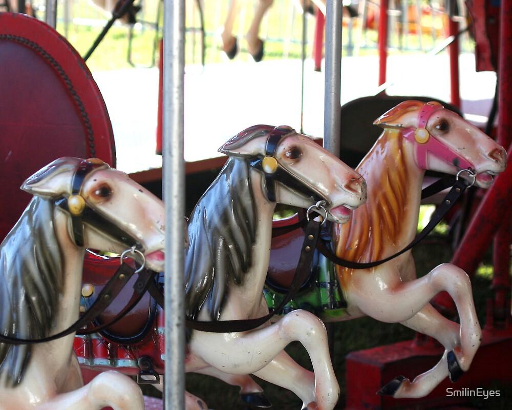 Carousel Horse Memories by SmilinEyes