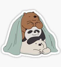 We Bare Bears Sticker