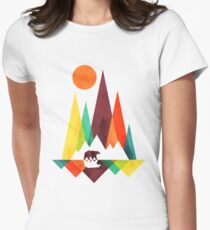 Colorful Nature with Bear and Sun T-Shirt