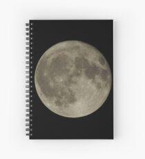 Full Moon Spiral Notebook