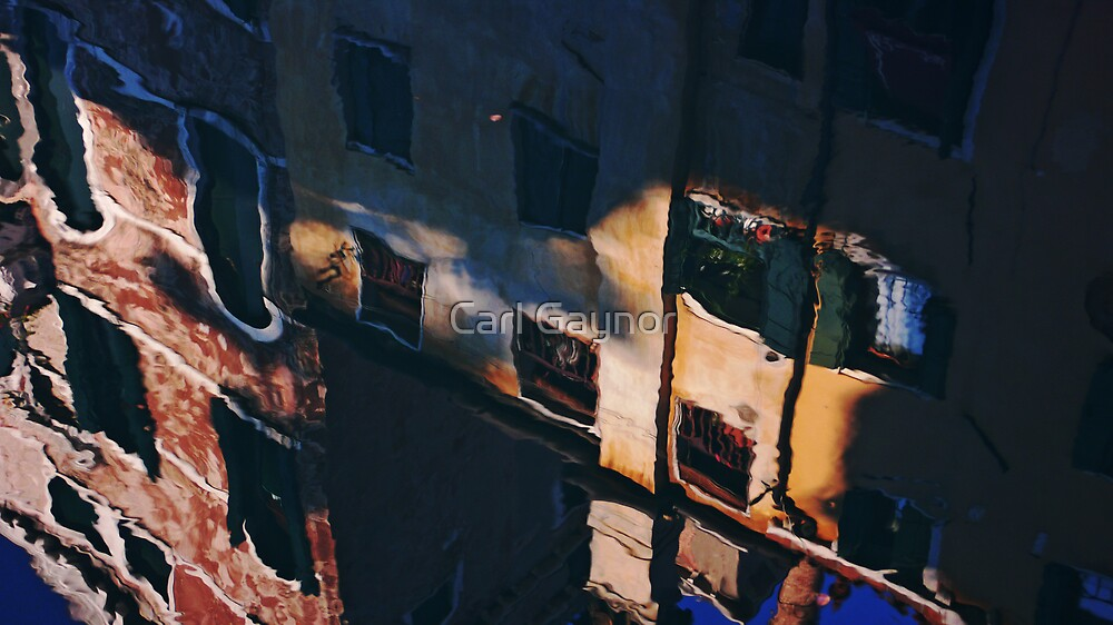 Shadow Highlights - Venice  by Carl Gaynor