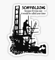 Scaffolding Sticker