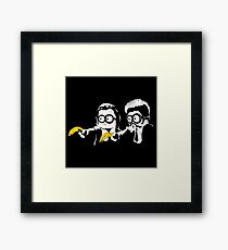Pulp Fiction Minions Framed Print