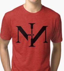 Nine Inch Nails logo Tri-blend T-Shirt