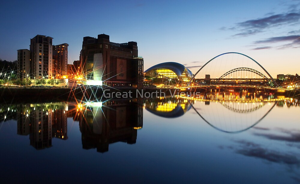 The Quayside by Great North Views