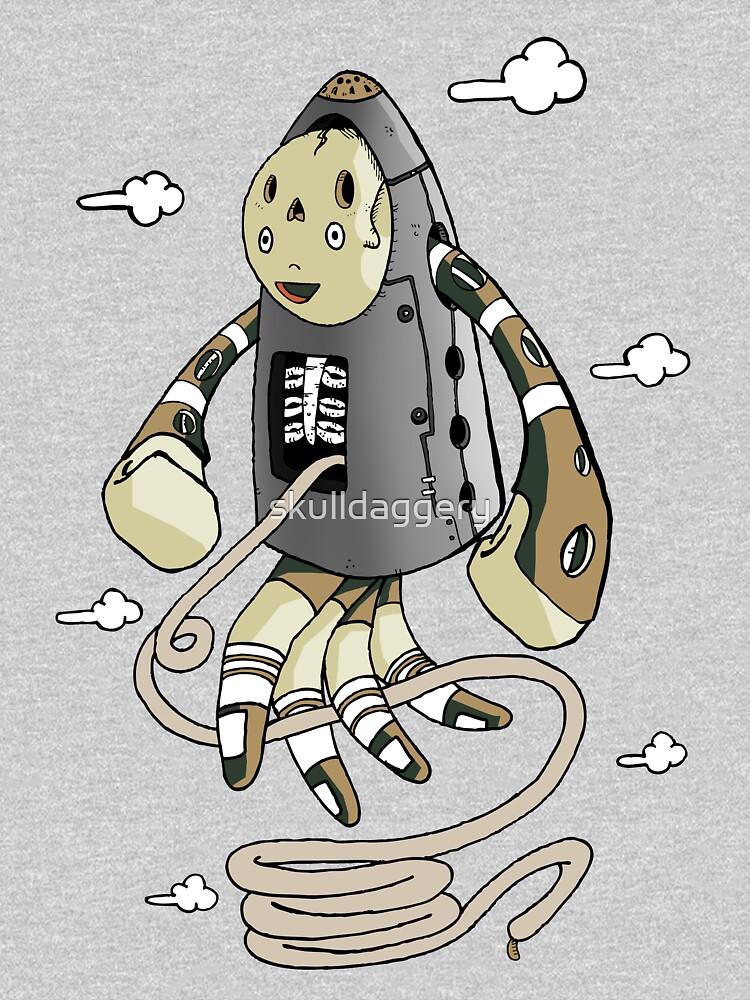 Rocketman by skulldaggery