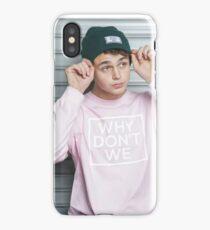 Why Don't We / Jonah Marais  iPhone Case/Skin
