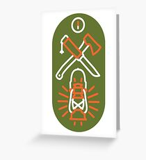 The Great Outdoors- Safety First Greeting Card